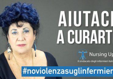 Campagna #NoViolenzasuglinfermieri di Nursing Up: anche Marisa Laurito tra i testimonial.