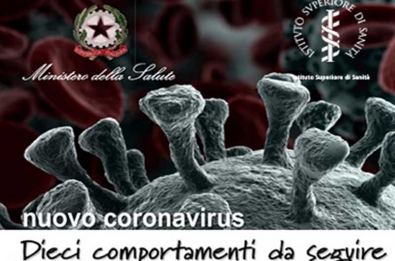 Coronavirus, aggiornato il decalogo Iss-ministero.