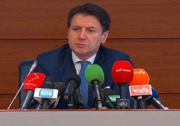 """Coronavirus, Conte: """"Massima collaborazione tra Governo e Regioni""""."""