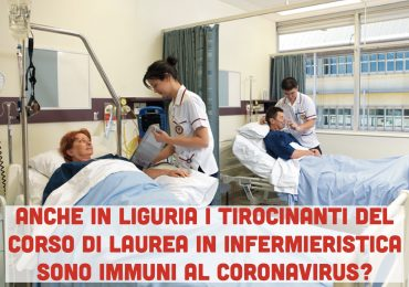 Coronavirus: scuole chiuse in Liguria. Solo gli aspiranti infermieri saranno obbligati a recarsi in tirocinio 1