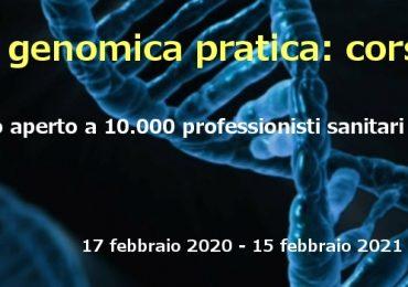 """Corso FAD gratuito """"Genetica e genomica pratica. Corso Base"""" per infermieri e tutte le professioni sanitarie"""