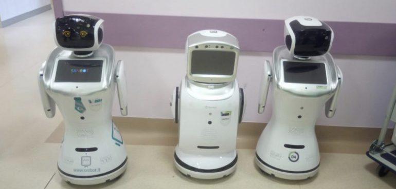 Covid-19: 6 robot assisteranno i pazienti a Varese per ridurre il rischio contagio