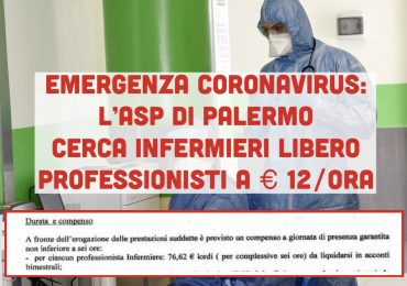 € 12 lordi per ora: il valore di un infermiere, in Sicilia, ai tempi del COVID-19