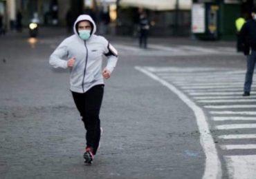 Emergenza Coronavirus: si valuta divietò completo di qualsiasi attività all'aperto per prevenire il contagio