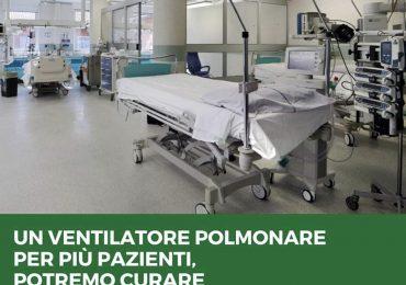 Coronavirus: ora sarà possibile collegare fino a 4 pazienti ad un unico ventilatore polmonare in caso di necessità