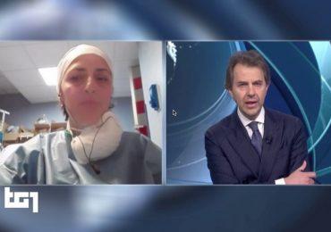 """Coronavirus, Francesca Mangiatordi al Tg1: """"Siamo allo stremo"""". E Giorgino si commuove."""