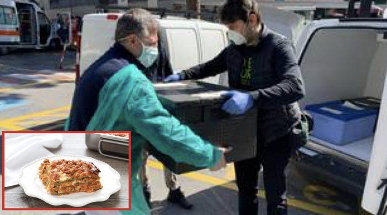"""Dall'alba ai fornelli per fare lasagne per gli infermieri che sfidano il Covid19:""""Un piccolo gesto per dirvi grazie"""" 1"""