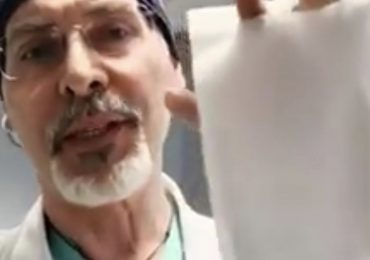 Denunciò l'inadeguatezza delle mascherine. Il medico del video virale è ore ricoverato in terapia intensiva Covid19