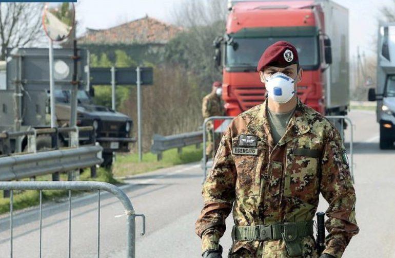 Emergenza Coronavirus: in Lombardia arriva l'esercito nelle corsie a supporto del personale sanitario