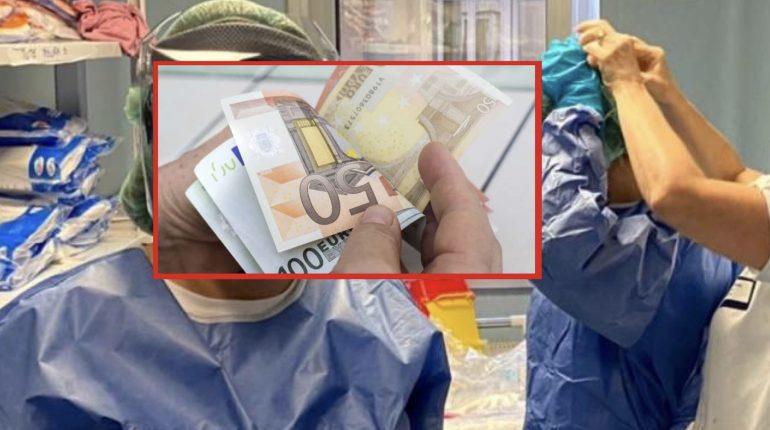 Gli infermieri italiani chiedono di devolvere i 100 euro di bonus in busta paga alle famiglie dei colleghi morti per il Coronavirus