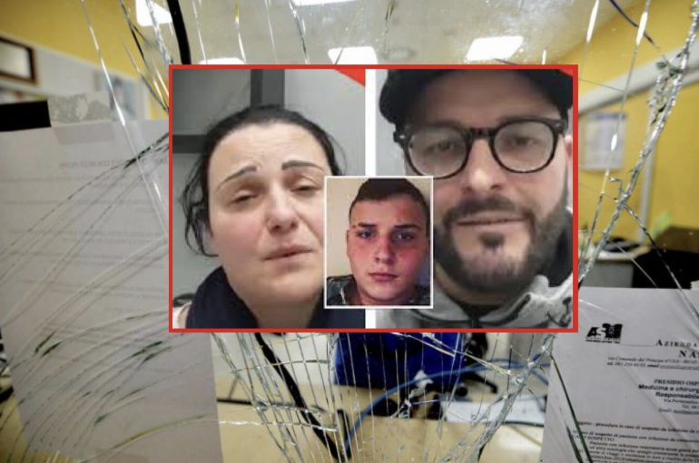 """I genitori di Ugo Russo si scusano:""""Niente fiori o donazioni per il funerale, devolvete i soldi al Pellegrini per riparare i danni che abbiamo fatto"""""""