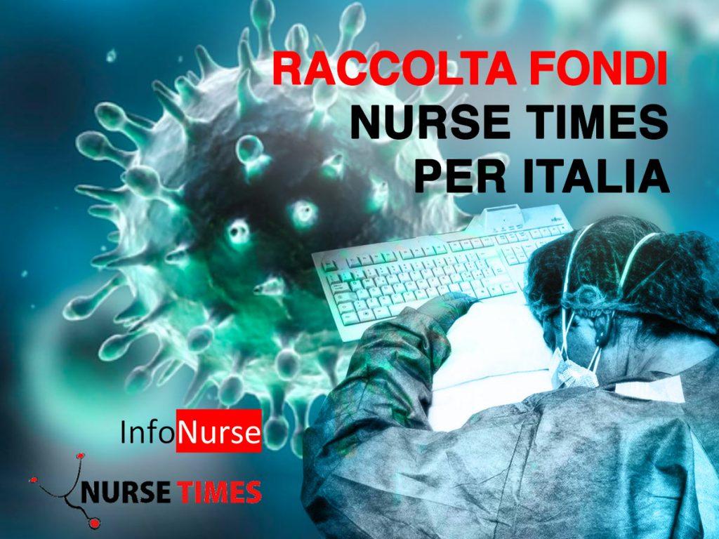 Raccolta Fondi Nurse Times: emergenza CORONAVIRUS