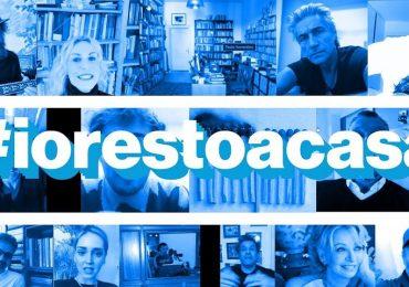 #Iorestoacasa: sempre più vip aderiscono alla campagna social.