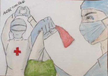 Krizia l'infermiera italiana che lascia Londra per aiutare il suo paese