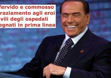 Silvio Berlusconi dona 10 milioni di euro per realizzare 400 posti letto di Terapia Intensiva 1