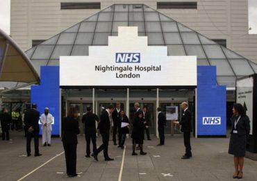 Inaugurato dopo 14 giorni di lavori il Nightingale Hospital: accoglierà 5.000 pazienti affetti da Covid-19