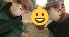 """Covid-19. Ilaria, infermiera """"La mia sorpresa per il compleanno di una nostra paziente"""""""
