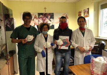 """Azienda molfettese dona 100 mascherine a ospedale di Bisceglie. Papagni (Opi Bat): """"Grande gesto di solidarietà"""""""