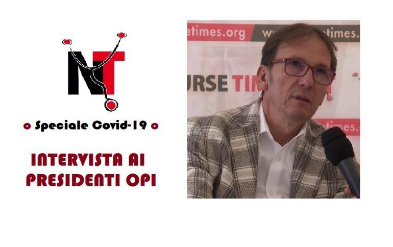 L'intervista a Saverio Andreula, presidente dell'OPI di Bari