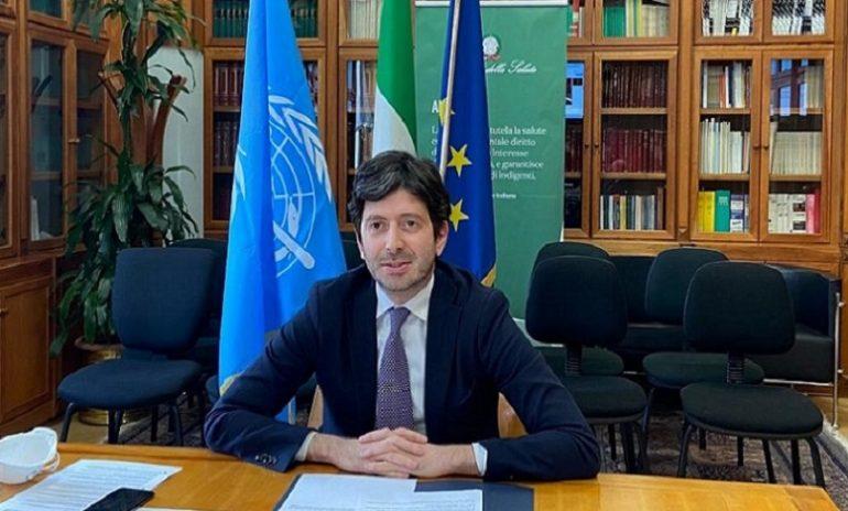 """Coronavirus, Speranza all'Assemblea generale Oms: """"Fondamentale lo sviluppo di un vaccino"""""""