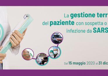 """Corso Fad Ecm """"La gestione territoriale del paziente con sospetta o accertata infezione da Sars-CoV-2"""