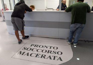 Follia a Macerata: paziente frattura lo sterno a un'infermiera con un pugno