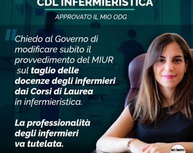 SUBITO TAVOLO TECNICO PER IL NO SUL TAGLIO DELLE DOCENZE DEGLI INFERMIERI