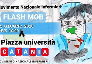 A Catania in piazza Università