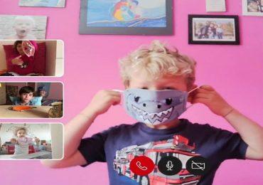 Coronavirus, per i bambini la mascherina diventa un gioco istruttivo
