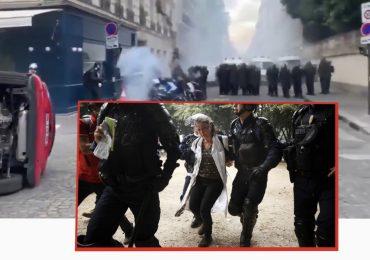Medici e infermieri francesi protestano per i bassi stipendi: 16 arresti tra i manifestanti