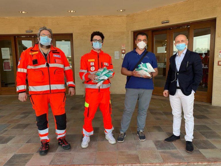 OPI e CIVES Chieti donano dispositivi di protezione agli infermieri delle strutture private