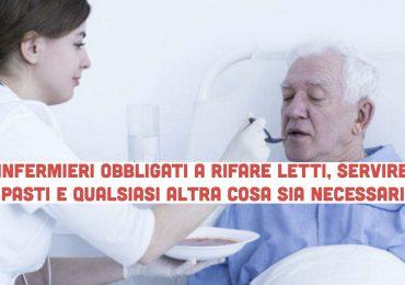 P.O. Pellegrini: infermieri obbligati a servire pasti, rifare letti e cambiare pannoloni 2