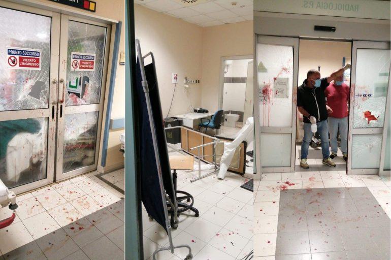 Roma, devasta il pronto soccorso con estintore e aggredisce vigilanti: arrestato