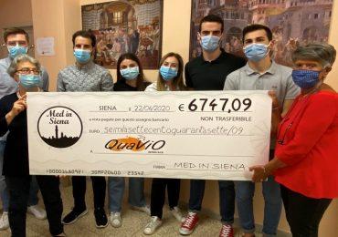 Siena, il Covid non ferma la solidarietà degli studenti di Medicina