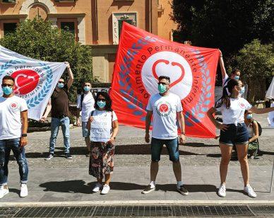Lazio: manifestazione infermieri Sant'Andrea 1