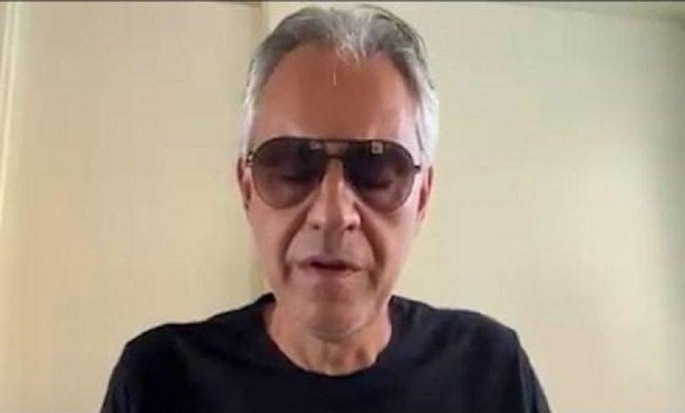 Bocelli, le scuse dopo la gaffe sul coronavirus
