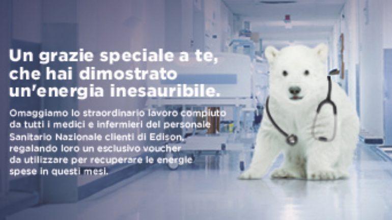 Edison Energia regala bottiglie di vino e pacchetti relax agli infermieri in prima linea 1