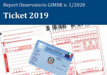 Ticket 2019: il Report dell'Osservatorio Gimbe