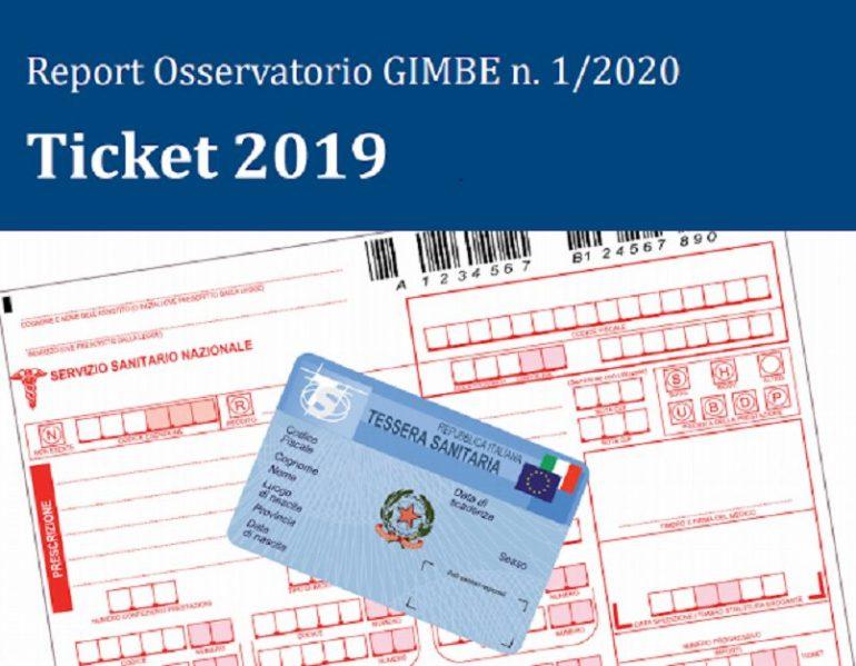 Ticket 2019: il Report dell'Osservatorio Gimbe