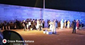 Gallipoli, sbarco di 84 migranti: 9 positivi al coronavirus