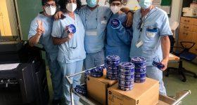 Nivea dice grazie agli infermieri del Niguarda