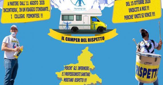 Nursing Up Piemonte – Dall'11 agosto parte il Camper del Rispetto