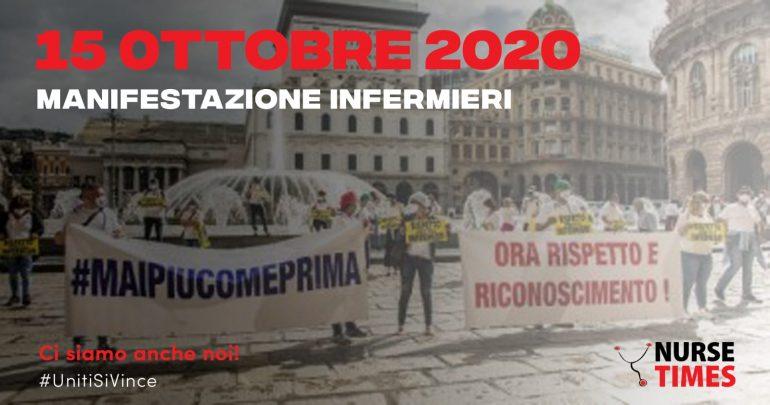 Anche noi di Nurse Times scenderemo in piazza il 15 ottobre a Roma