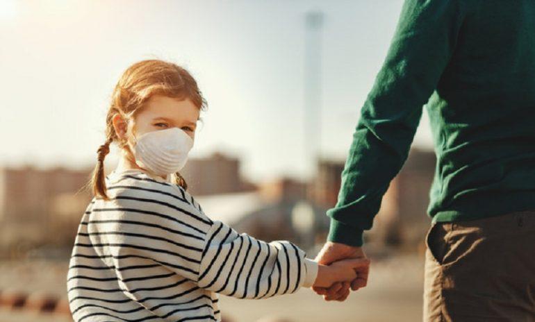 Coronavirus: i bambini e l'uso della mascherina