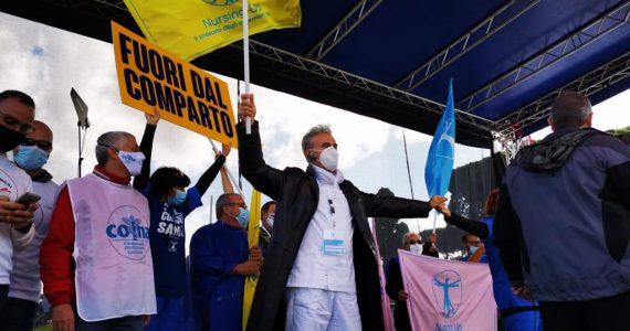 """Nursing Up, De Palma: """"Il 15 ottobre passerà alla storia. Migliaia di infermieri da tutta Italia uniti per un solo obiettivo. 1"""