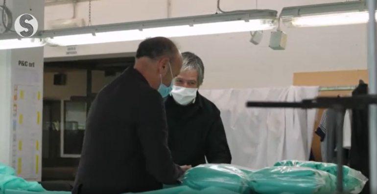 """""""A viso aperto"""", il docufilm che racconta l'Italia della pandemia"""