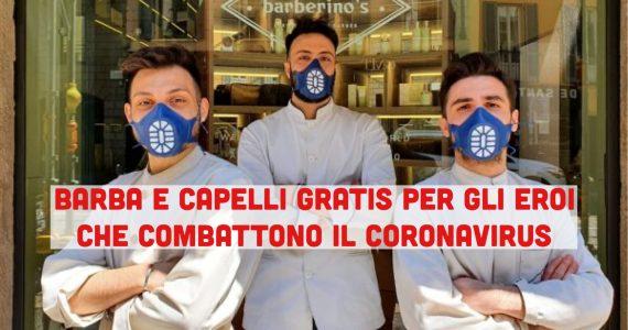 Coronavirus: barba e capelli gratis per ringraziare medici e infermieri eroi