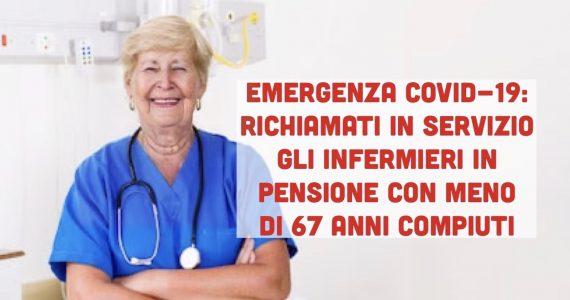 Covid-19: la Valle d'Aosta richiama in servizio infermieri e medici in pensione