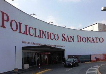 Insufficienza polmonare grave, tre impianti di valvola biologica transcatetere eseguiti al San Donato