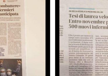 """Laureandi CdL infermieristica Padova: """"protestiamo contro la mancanza di rispetto"""""""